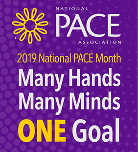 National PACE Month September 2018 logo