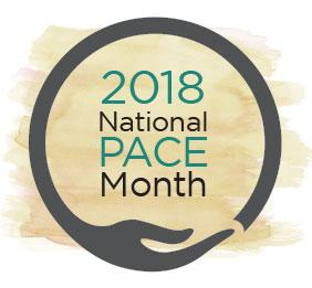 2018 National PACE Month Logo